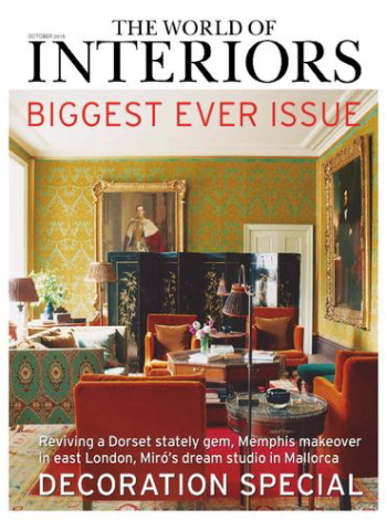 THE WORLD OF INTERIORS 年間購読