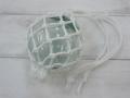 ガラス浮玉-NO.3-【ガラス玉直径約7.7cm/1個】ネット付き・現品