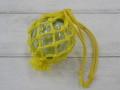 ガラス浮玉-NO.4-【ガラス玉直径約6.2cm/1個】ネット付き・現品