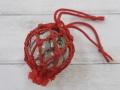 ガラス浮玉-NO.6-【ガラス玉直径約5.7cm/1個】ネット付き・現品