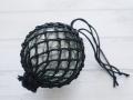 ガラス浮玉-NO.11-【ガラス玉直径約10.3cm/1個】ネット付き・現品