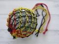 ガラス浮玉-NO.12-【ガラス玉直径約10cm/1個】ネット付き・現品