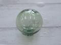 ガラス浮玉【ガラス玉直径約5.5〜6.5cm/1個】