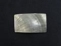 真珠貝プレート -クロチョウガイ(長方形)【約3cm×5cm/1枚】[メール便可60枚]