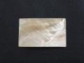 真珠貝プレート - マベガイ(長方形)【約3cm×5cm/1枚】[メール便可60枚]