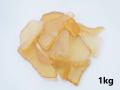 ビーチグラス(人工)単色売り-マスタード-【約1cm~5cm/約1kg】 [メール便可-1袋まで]