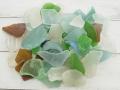 ビーチグラス(自然)-ミックス-【約2cm~6cm/約500g】 [メール便可-2袋まで]