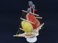 貝細工-舟-【縦18cm程度 横15cm程度/1個】