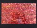 貝殻シート#32(ニュージーランドアバロン(着色・レッド))【シートサイズ14cm×24cm 厚さ0.18mm-0.2mm 】