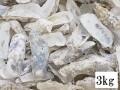 牡蠣殻(カキ殻)【約3kg】【約8~15cm】♪便利なネット入り!♪