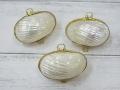 小物入れ-マルサザエ真珠磨き-【約5cm/3個】