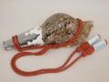 ホラガイ笛・紐付き【約24.5cm/1個】現品・法螺貝