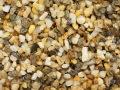 天然玉砂利 【明石】 1KG サイズ:1分 (3-5mm) ♪小粒!水槽底砂に最適♪ [メール便可-1袋まで]