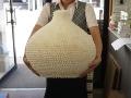バブル-飾りツボ-【幅約43cm-高さ40cm/1個】貝殻・貝・シェル