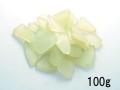 ビーチグラス(人工)単色売り-ライトグリーン-【約1cm~5cm/約100g】 [メール便可-8袋まで]