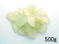 ビーチグラス(人工)単色売り-ライトグリーン-【約1cm~5cm/約500g】 [メール便可-2袋まで]