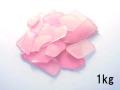 ビーチグラス(人工)単色売り-ピンク-【約1cm~5cm/約1kg】 [メール便可-1袋まで]