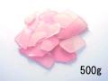 ビーチグラス(人工)単色売り-ピンク-【約1cm~5cm/約500g】 [メール便可-2袋まで]