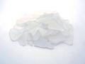 ■メール便可(8袋まで)■ビーチグラス(人工)単色売り-ホワイト-【約1cm〜5cm/約100g】シーグラス ウエディング ハンドメイド DIY ランプ 照明 キャンドル