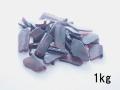 ビーチグラス(人工)単色売り-ワイン-【約2cm~7cm/約1kg】 [メール便可-1袋まで]