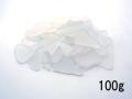 ビーチグラス(人工)単色売り-ホワイト-【約2cm~5cm/約100g】 [メール便可-8袋まで]
