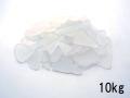 ビーチグラス(人工)単色売り-ホワイト-【約1cm~5cm/約10kg】