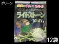 ライトストーン☆蓄光石☆グリーン【約1.0cm〜3.5cm/約100g×12袋入り】