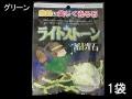 ライトストーン☆蓄光石☆グリーン【約1.0cm~3.5cm/約100g】[メール便可-3袋まで]