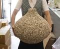 ナサシェル-飾りツボ-【幅約40cm-高さ43cm/1個】貝殻・貝・シェル