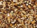 天然玉砂利 【桜】 1KG サイズ:1分 (3-5mm) ♪小粒!水槽底砂に最適♪ [メール便可-1袋まで]