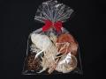 厳選ワクワク天然貝殻セット(10種類/10個入り) お子様へのプレゼントに!無料ラッピング付き♪