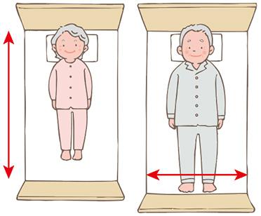 ベッドサイズイメージ