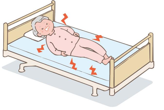床ずれイメージ