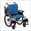 【自走用】立体スリングシートで姿勢が安定する車いす ネクストコア ミニモ NEXT-50B