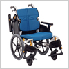 【介助用】姿勢が安定する「立体スリングシート」採用 ネクストコア ミニモ 介助用 NEXT-60B