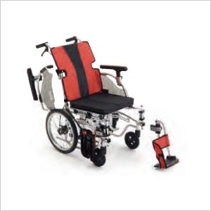 【介助用】体格・症状に合わせて調整可能 MEF-16 イージーフィット  介助型 ハイタイプ CJ00949 RD