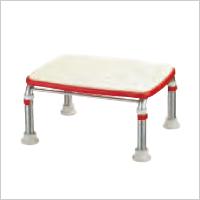 浴槽に足が届いて安心 安寿 ステンレス製浴槽台R あしぴた ジャストすべり止めシートタイプ