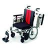 【介助用】座面や座幅を調整できる モジュール型介助用車いす_MM-FIT_16FB