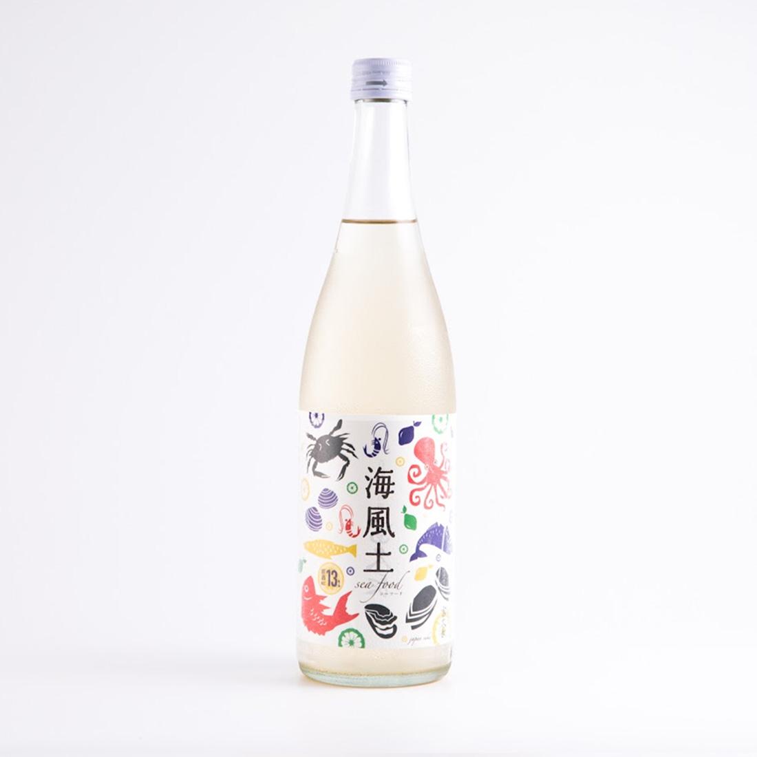 白麹純米酒 海風土(sea food) 720ml/今田酒造本店