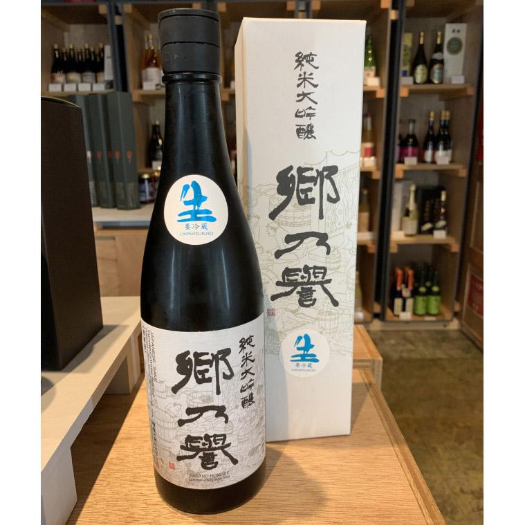純米大吟醸酒 郷乃誉(白ラベル)無濾過  生々 720ml / 須藤本家