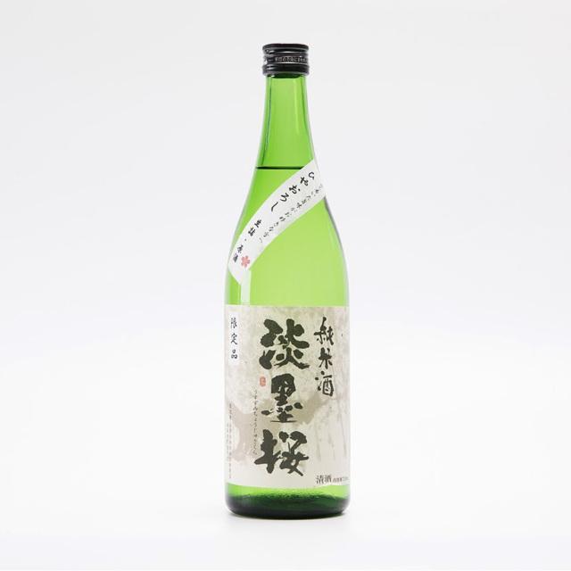 【秋限定】淡墨桜 純米ひやおろし 720ml / 白木恒助商店