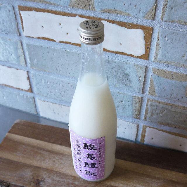 北島酒造 酸基醴もと(さんきあまざけもと) 乳酸発酵活性にごり