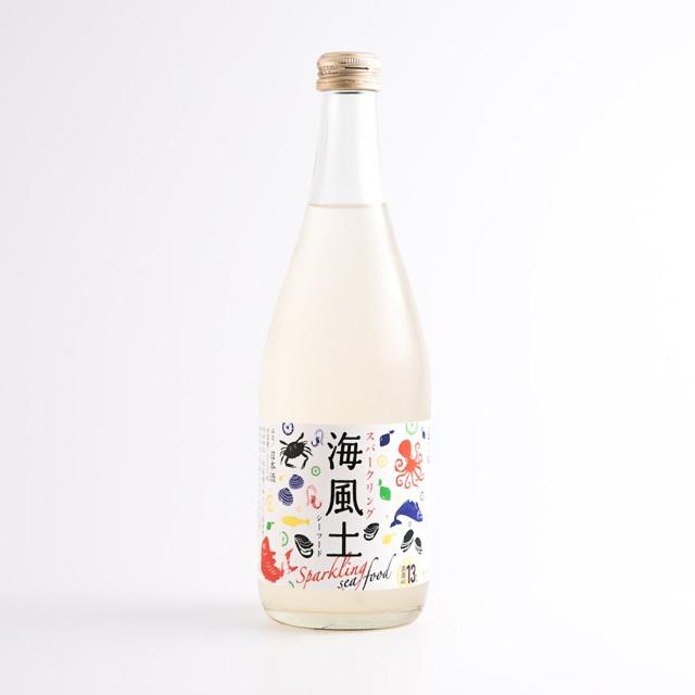 白麹純米酒 Sparkling 海風土(sea food) 500ml/今田酒造本店