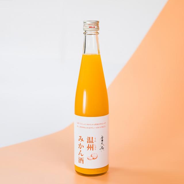 富久長 温州みかん酒 500ml /今田酒造本店