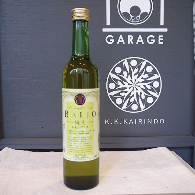 BAIJO バイジョウ レモングラス 梅酒 500ml / エコファームみかた