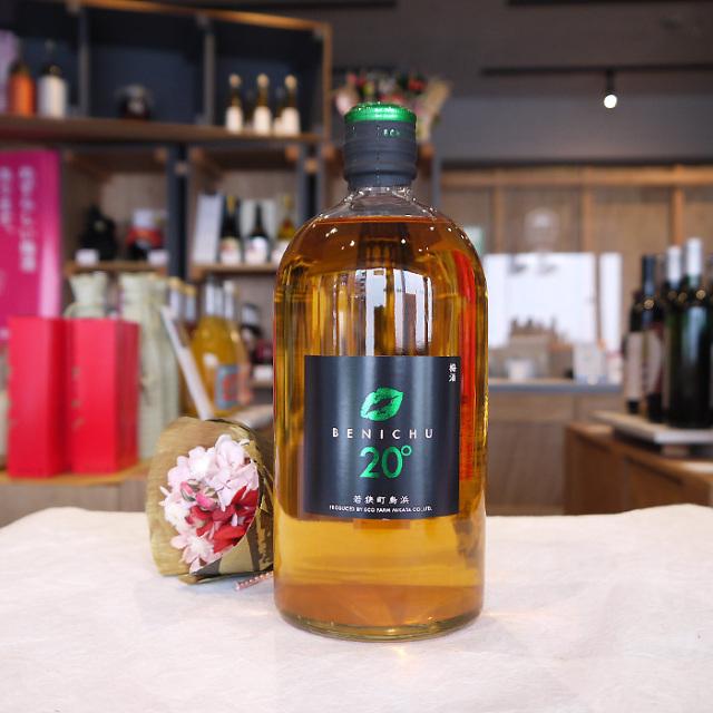 BENICHU20° ベニチュウ20 微糖梅酒  720ml / エコファームみかた