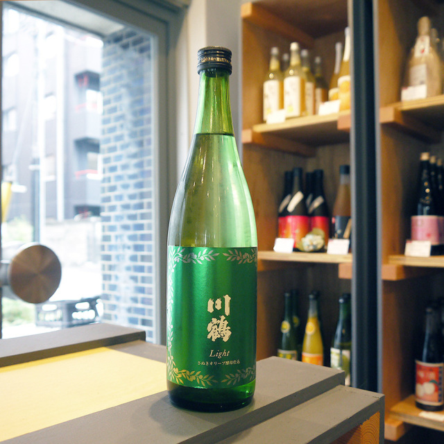川鶴Light ~さぬきオリーブ酵母仕込み~ 720ml/川鶴酒造