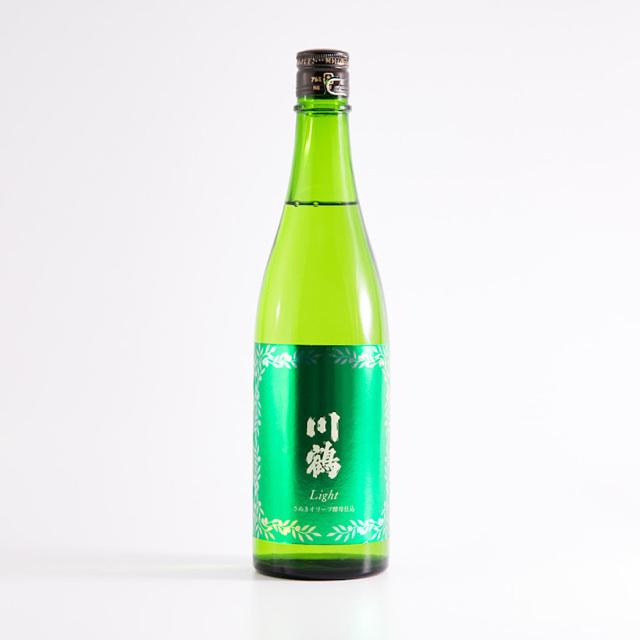 川鶴Light  さぬきオリーブ酵母仕込み 純米吟醸 720ml / 川鶴酒造