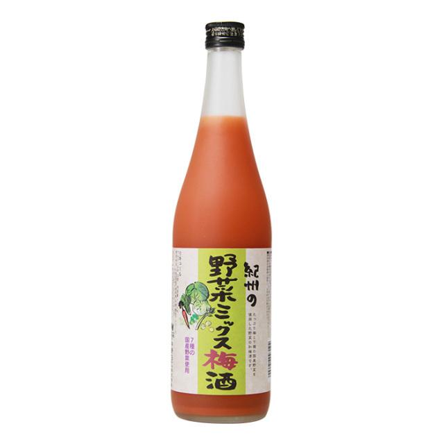 紀州の野菜ミックス梅酒  720ml / 中野BC