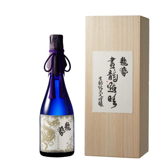 龍勢  画龍点睛(がりゅうてんせい)純米大吟醸酒 箱入 720ml / 藤井酒造